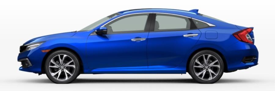 2021 Honda Civic Sedan in Aegean Blue Metallic