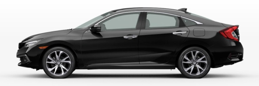 2021 Honda Civic Sedan Crystal Black Pearl