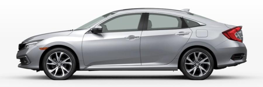 2021 Honda Civic Sedan Lunar Silver Metallic