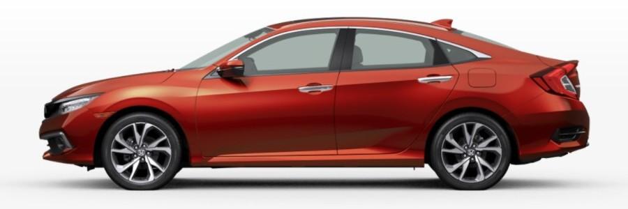 2021 Honda Civic Sedan Molten Lava Pearl