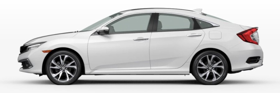 2021 Honda Civic Sedan in Platinum White Pearl