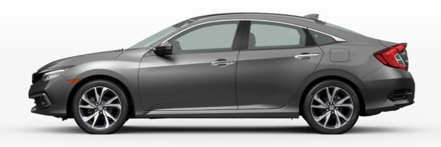 2021 Honda Civic Sedan in Modern Steel Metallic