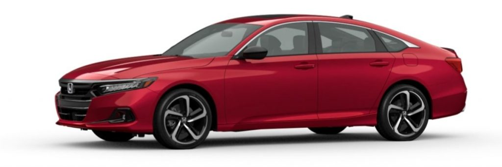2021 Honda Accord in San Marino Red
