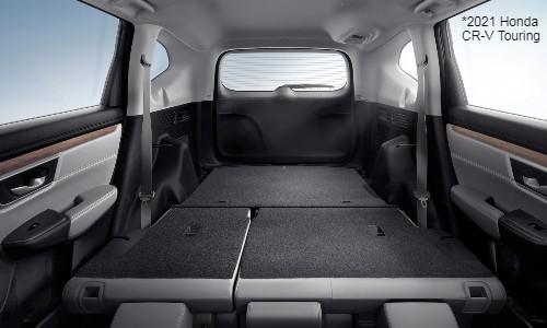 Interior view of 2021 Honda CR-V Cargo Area