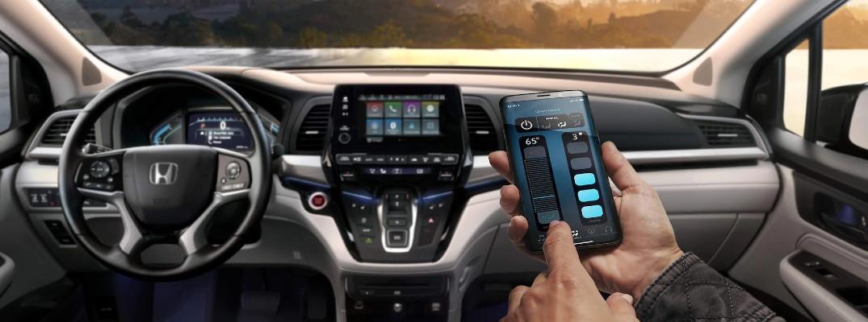 Honda CabinControl® App for 2021 Honda Odyssey