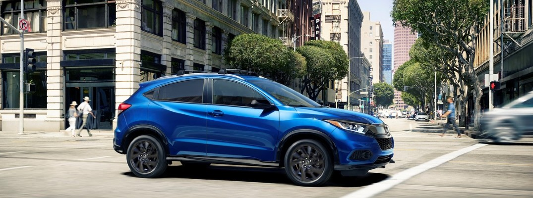 Blue 2021 Honda HR-V