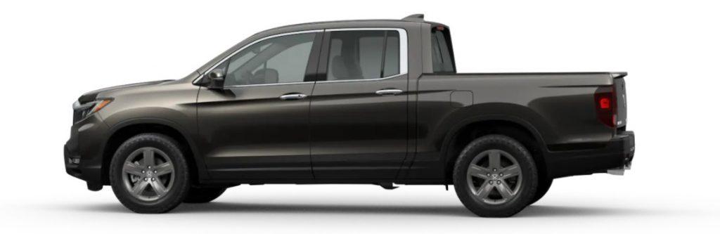 2021 Honda Ridgeline in Pacific Pewter Metallic