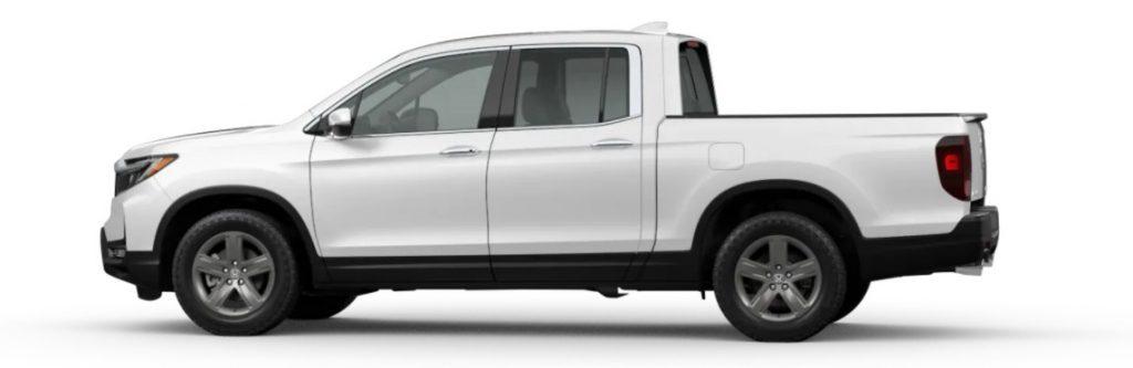 2021 Honda Ridgeline in Platinum White Pearl