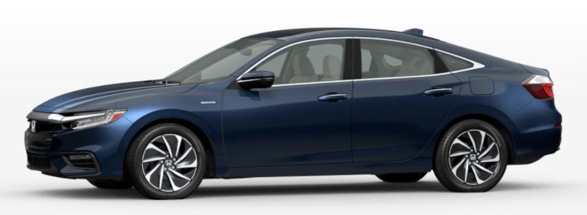 2022 Honda Insight in Cosmic Blue Metallic