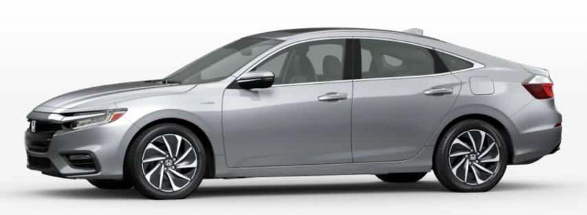 2022 Honda Insight in Lunar Silver Metallic