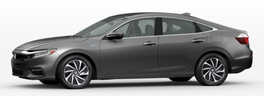 2022 Honda Insight in Modern Steel Metallic