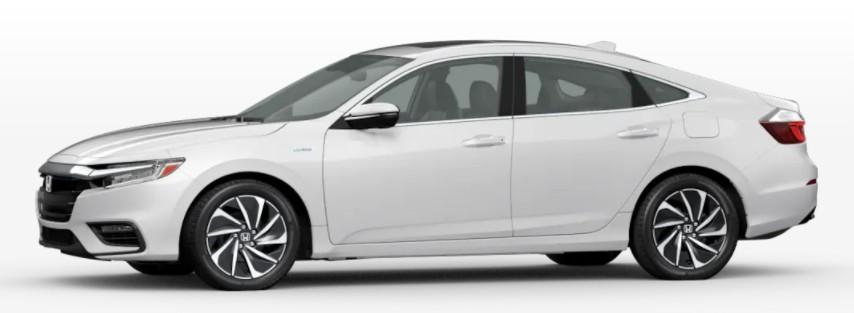 2022 Honda Insight in Platinum White Pearl