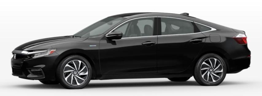 2022 Honda Insight in Crystal Black Pearl