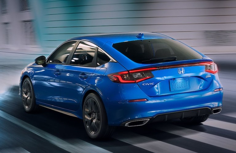 2022 Honda Civic Hatch from rear