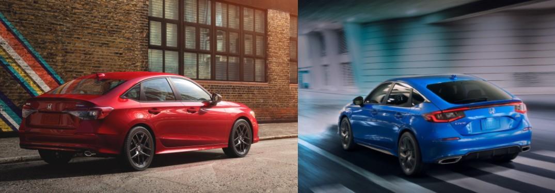 Should I get a 2022 Civic Sedan or a 2022 Civic Hatchback?