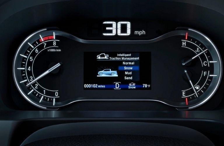 Intelligent Traction Management System in the 2021 Honda Ridgeline