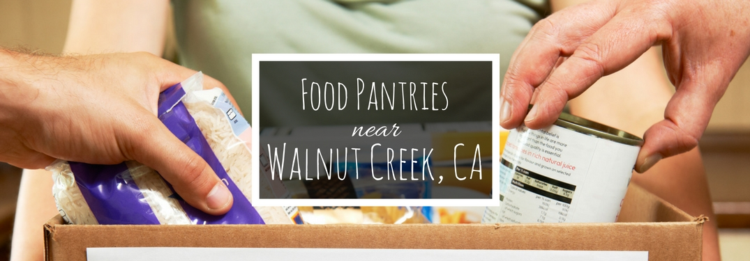 Food pantries near Walnut Creek
