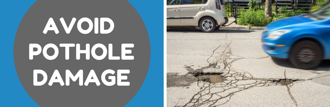 Driving Tips to Avoid Pothole Damage