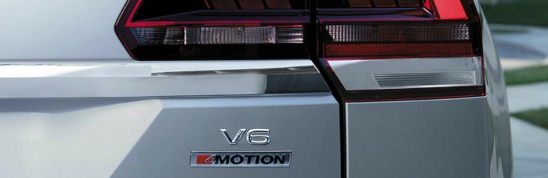 2018 Volkswagen Atlas with 4Motion badging