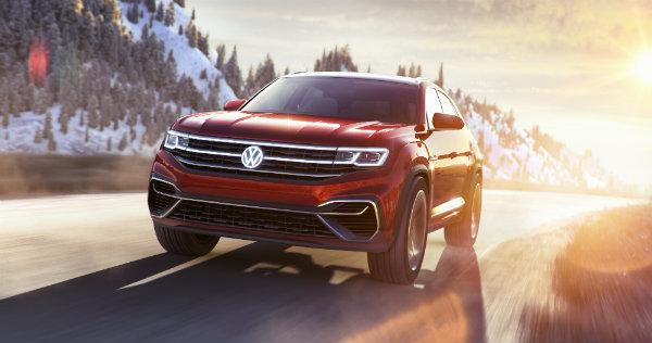 Design image of the 2019 Volkswagen Atlas Cross Sport