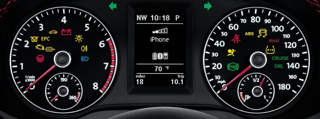 What Do the Dashboard Warning Lights in a Volkswagen Vehicle