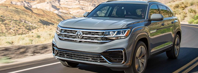 Gray 2020 Volkswagen Atlas Cross Sport