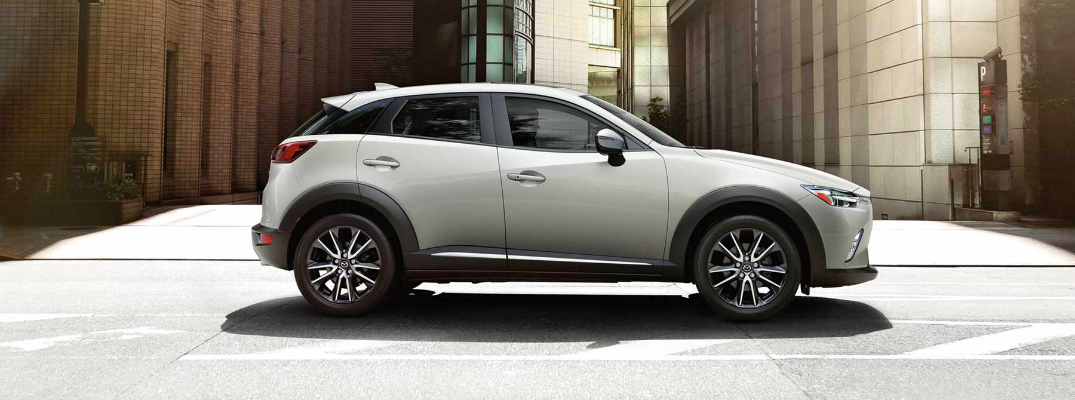 Available Technological Features of the 2017 Mazda CX-3 Exterior