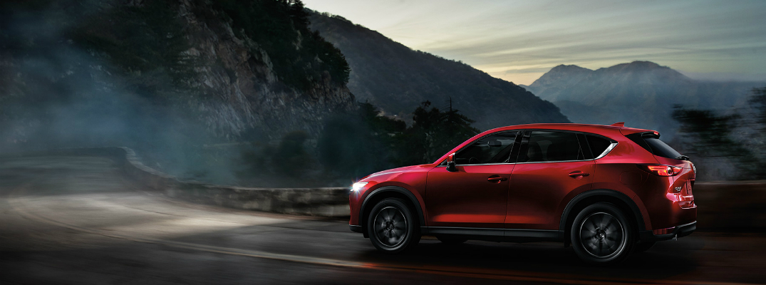 Driver Assistance Features on the 2017 Mazda CX-5 Exterior