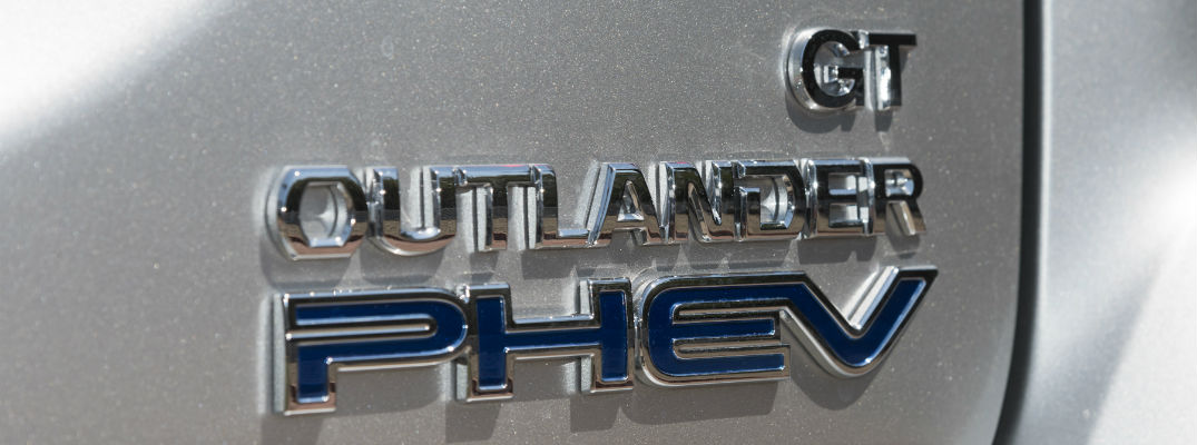 Outlander PHEV badge appearing on testing version of the new crossover SUV