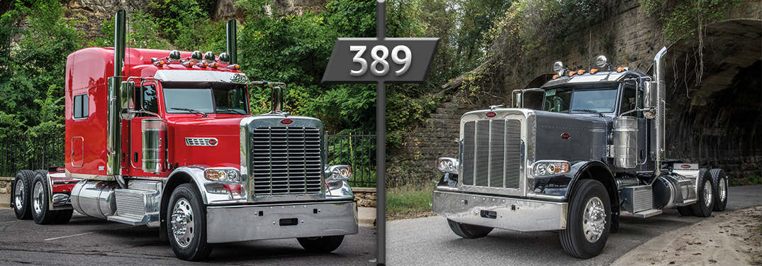 Peterbilt 389 Design and Features