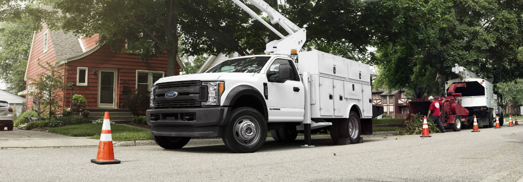 2017 Ford Super Duty Chassis Cab Engine Performance
