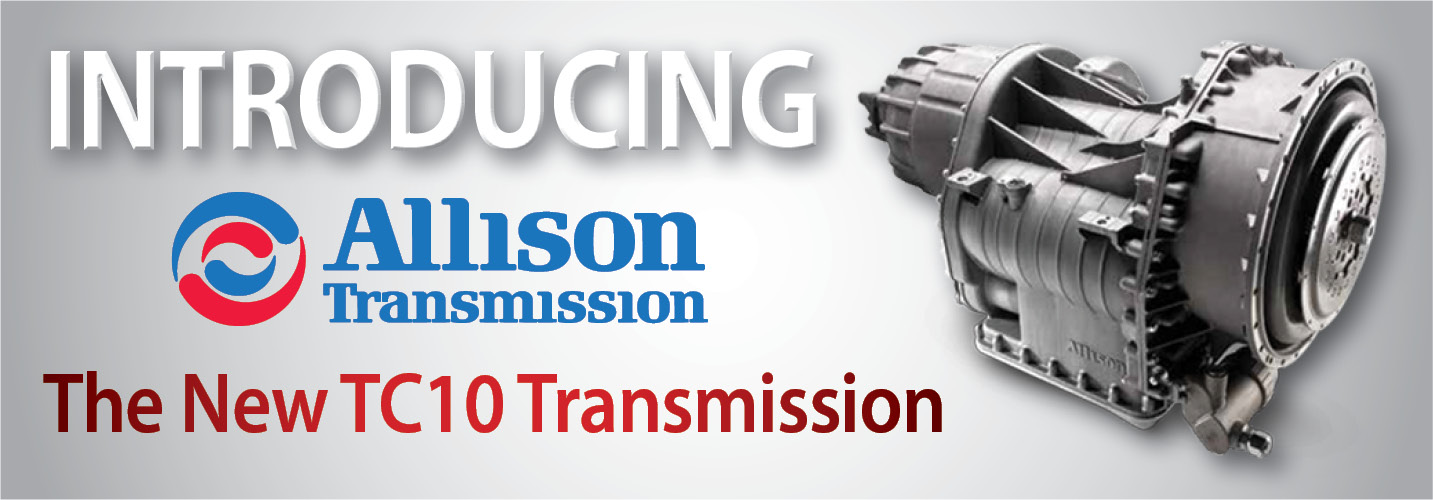 Peterbilt Reveals New Allison TC10 Transmission