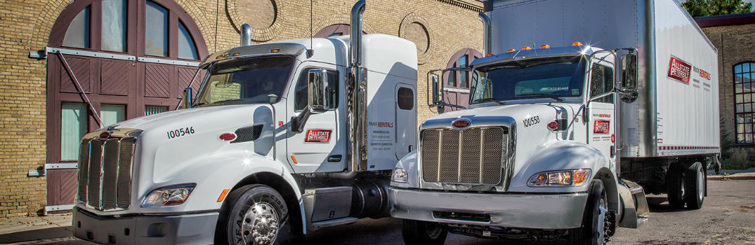 Allstate Peterbilt rental truck models