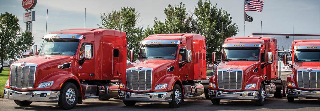 Reduce the hassle with commercial truck leasing from Allstate Peterbilt Group