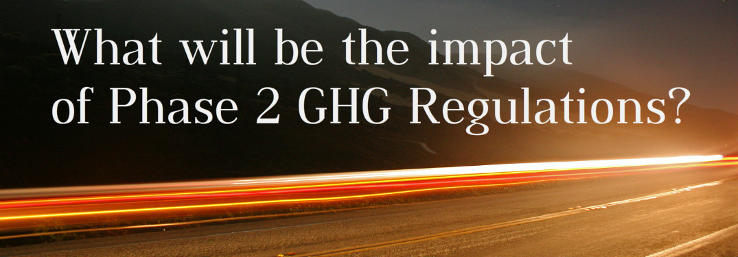What vehicles will the Phase 2 Greenhouse Gas Regulations impact?