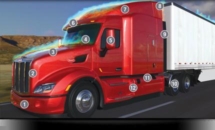 Peterbilt announces enhancements to new Model 579 EPIQ package » epiq-model- 579
