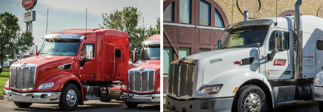 Add to your fleet with long-term rentals or leases from Allstate Peterbilt