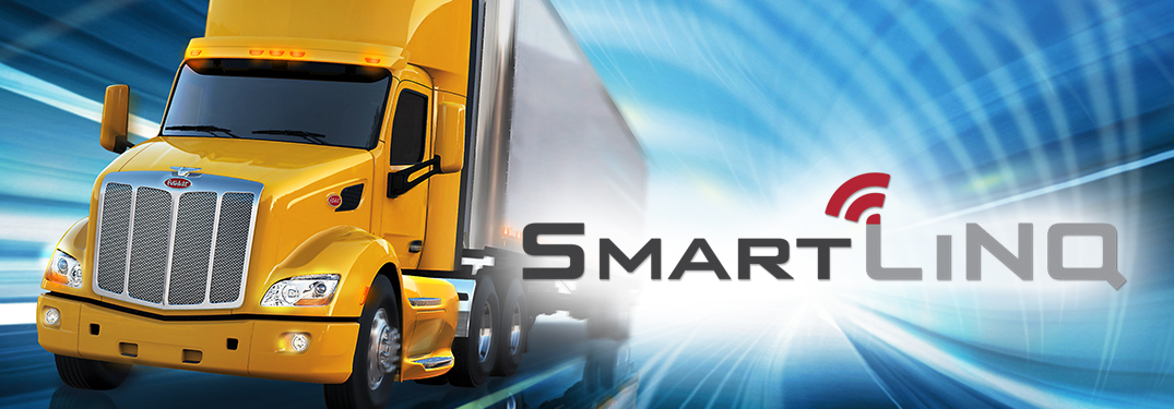 What features are included in Peterbilt SmartLINQ