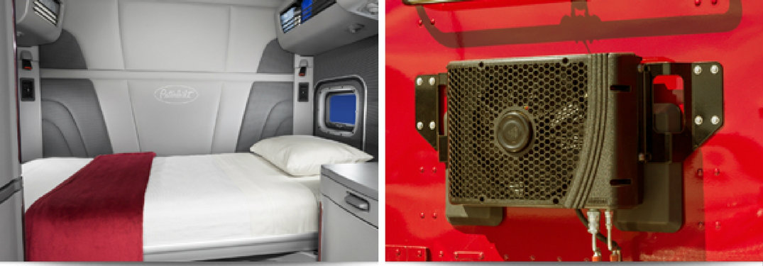 How does the Peterbilt SmartAir system work
