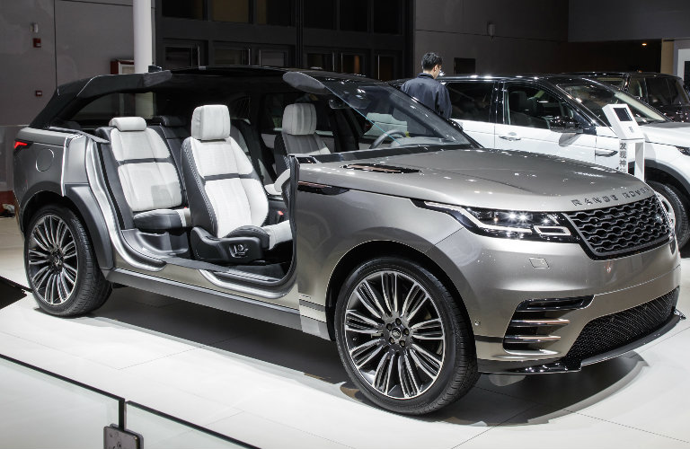 2018 Range Rover Velar Interior Seating Space