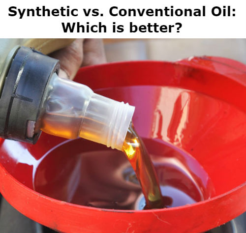 Conventional Vs. Synthetic Oil