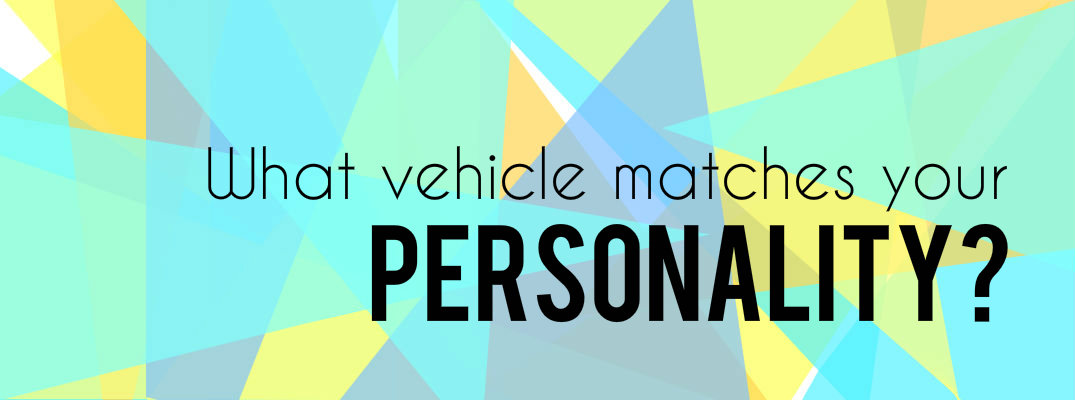 Colorful image with the words Best Honda vehicle for your personality quiz
