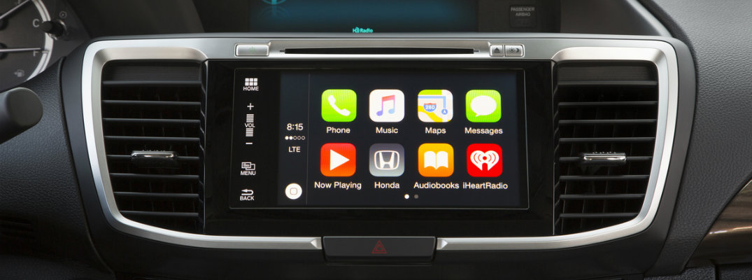 honda models  apple carplay