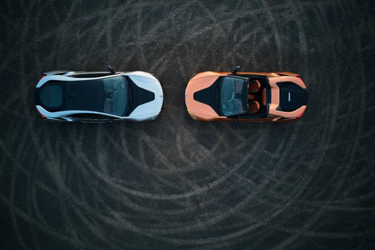 Two, 2019 BMW i8 head-to-head