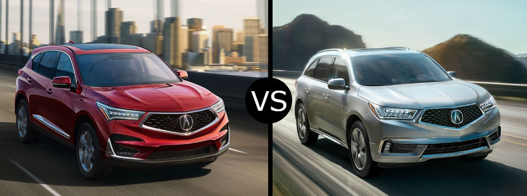 Mdx Vs Pilot >> What Is The Difference Between The 2019 Acura Rdx Vs Mdx