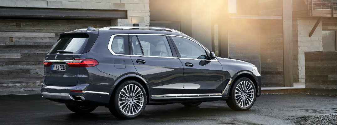 2019 BMW X7 in front of a home