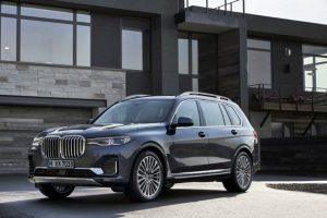2019 BMW X7 in front of a house