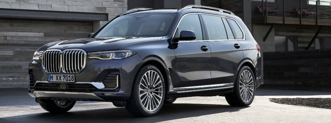 See the fresh new paint colors for the all-new 2019 BMW X7