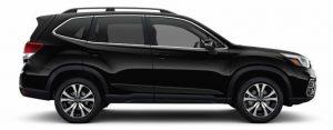 2019 Subaru Forester in Crystal Black Silica