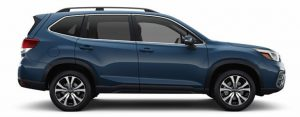 2019 Subaru Forester in Horizon Blue Pearl